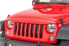 NightHawk Light Brow, Firecracker Red : 07-18 Jeep Wrangler JK