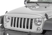 NightHawk Light Brow, Bright Silver : 07-18 Jeep Wrangler JK