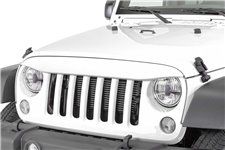 NightHawk Light Brow, Bright White : 07-18 Jeep Wrangler JK