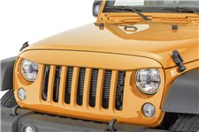 NightHawk Light Brow, Amped : 07-18 Jeep Wrangler JK