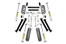 Suspension Lift Kit, 4 Inch, Shocks : 97-02 Jeep Wrangler TJ