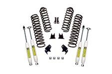 Suspension Lift Kit, 2.5 Inch, Shocks : 07-18 Jeep Wrangler JK, 2 Door
