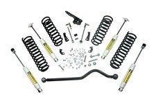 Suspension Lift Kit, 4 Inch, Shocks : 07-18 Jeep Wrangler JK, 2 Door