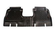 Floor Liner, Rear, Black : 18-18 Jeep Wrangler Unlimited JLU, 4 Door