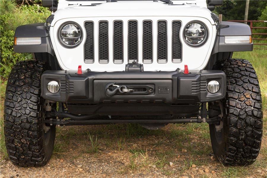 Spartacus Stubby Bumper, Black : 18-18 Jeep Wrangler JL/JLU