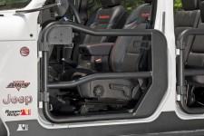 Tube Doors, Front, Textured Black : 18-18 Jeep Wrangler JL/JLU