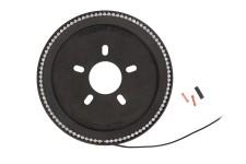 Third Brake Light Ring, LED : 18-18 Jeep Wrangler JL/JLU
