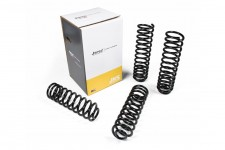 Coil Springs Set, Front and Rear, lift 2½ inch : 07-18 Jeep Wrangler JKU 4 doors