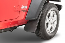 Front Molded Splash Guards : 18-19 Jeep Wrangler JL