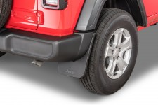 Rear Molded Splash Guards : 18-19 Jeep Wrangler JL