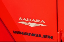 """Sahara"" Decal : Jeep Wrangler JK"