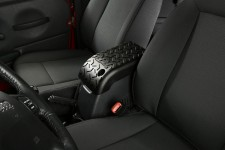 All Terrain Center Console Cover, Black, 02-06 TJ