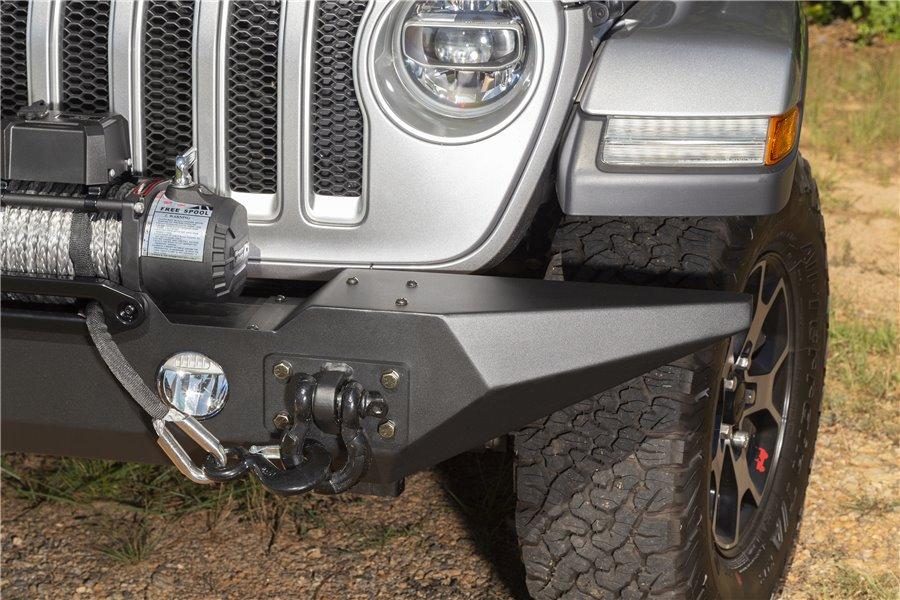 Spartan Bumper, Front, Standard Ends : 18-19 Jeep Wrangler JL
