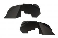 Aluminum Inner Fender Liners, Black : 07-18 Jeep Wrangler JK