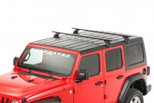 Removable Roof Rack Kit : 18-19 Jeep Wrangler JL with Factory Hardtop