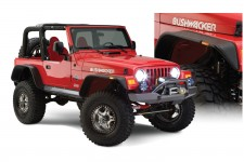 Flat Style Flares : 97-06 Jeep Wrangler TJ & Unlimited