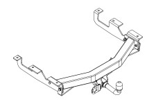 Towing Hook Assembly : Jeep Grand Cherokee WJ/WG, automatic transmission