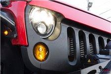 LED Jeep Turn Signals – black lens : 07-17 Jeep Wrangler JK