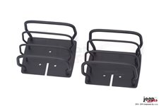 Euro Guard Kit, Tail Light, Black : 76-06 Jeep CJ/Wrangler YJ/TJ