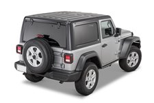 Hardtop, 3 Piece, Freedom Panels, textured black : 18-19 Jeep Wrangler JL 2-door