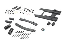 Tailgate Reinforcement & Oversized Spare Tire Monting Bracket : 2018+ Jeep Wrangler JL
