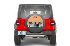 Cali Coastal Spare Tire Cover: 2018 Jeep Wrangler JL