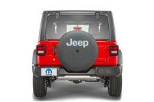 Spare Tire Cover, Jeep Logo : 18-19 Jeep Wrangler JL