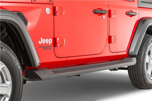 Production Style Side Steps : 18-19 Jeep Wrangler Unlimited 4 Door JL