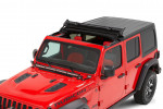 Sunrider for Hardtop, Black Diamond : 18-19 Jeep Wrangler JL & 2020 Gladiator JT