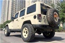 Rear steel bumper with additional LED lights : 2007-2018 Jeep Wrangler JK