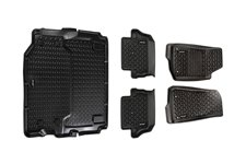 All Terrain Floor Liner Set : 18-19 Jeep Wrangler JL 2-dr (full cargo)
