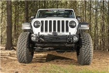 Arcus Front Bumper, w/ Winch Tray & Tow Hooks : 18-19 Jeep JL/JT