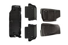 All Terrain Floor Liner Set : 18-19 Jeep Wrangler JL 2-dr (short cargo)