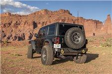 HD Bumper, Rear : 18-19 Wrangler JL