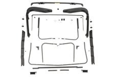 Factory Soft Top Hardware : 97-06 Jeep Wrangler TJ