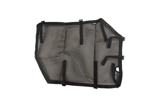 Fortis Tube Door Covers, Front Pair, Black : 18-19 Jeep Wrangler JL/JLU
