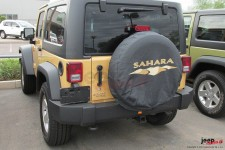 Cover spare wheel logo SAHARA