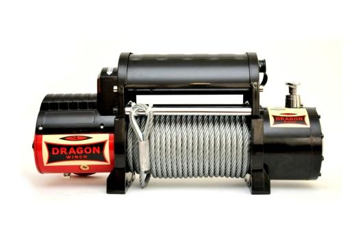 Wyciągarka MAVERICK DWM 12000 HDI z liną stalową