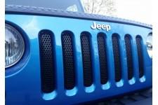 Grille Insert, Black : 07-17 Jeep Wrangler JK