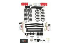 4 Inch Lift Kit without Shocks : 07-17 Jeep Wrangler JK