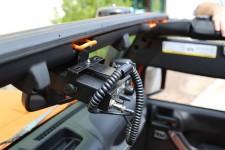 CB Radio Mount : 07-17 Jeep Wrangler JK