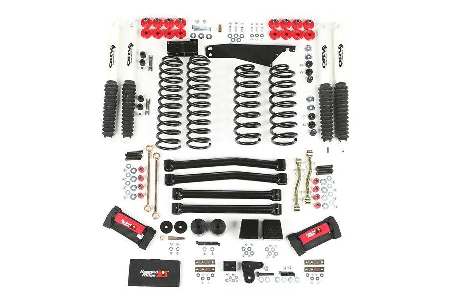 4-Inch Lift Kit with Shocks, 07-15 Jeep Wrangler (JK)