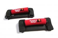 Grab Handle Kit, Neoprene, Red : 55-19 Jeep CJ/Wrangler YJ/TJ/JK/JL