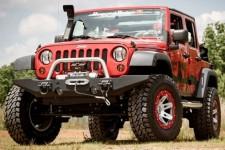 Standard Bumper Ends, XHD Modular Front Bumper : 07-17 Jeep Wrangler JK