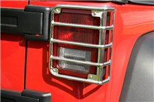 Euro Guard Kit, Tail Light, Metal : 07-18 Jeep Wrangler JK