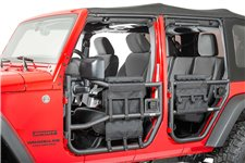 Tube Door Cover Kit, Cover/Bags : 97-18 Jeep Wrangler TJ/JK