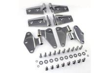 Door Hinge Kit, Stainless Steel : 07-17 Jeep Wrangler JK
