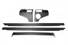 Body Armor Kit, 5 Piece : 07-18 Jeep Wrangler Unlimited JKU, 4 Door