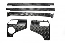 Body Armor Kit, 5 Piece : 07-18 Jeep Wrangler JK, 2 Door