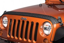 Hood Guard, Body Armor : 07-17 Jeep Wrangler JK
